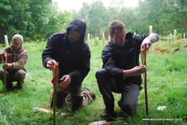 Outdoor survival courses