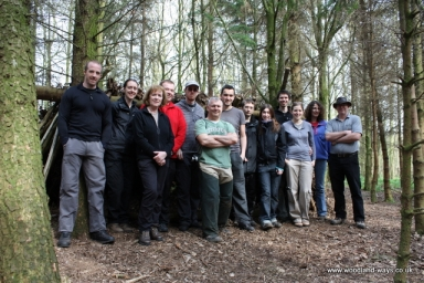 Bushcraft survival skills course