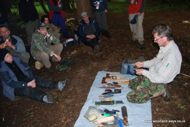 Wilderness survival course