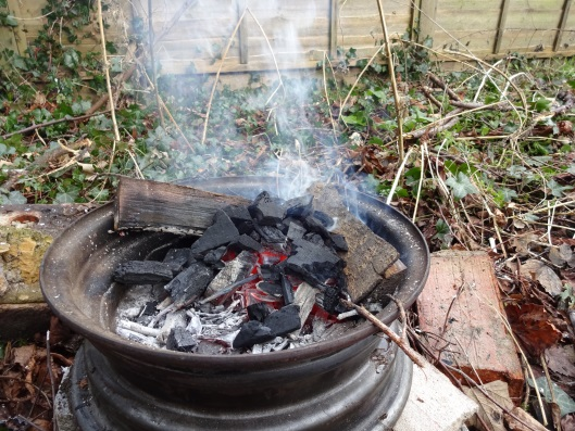 Backyard Forge woodland ways survival school in the uk - bushcraft and wilderness
