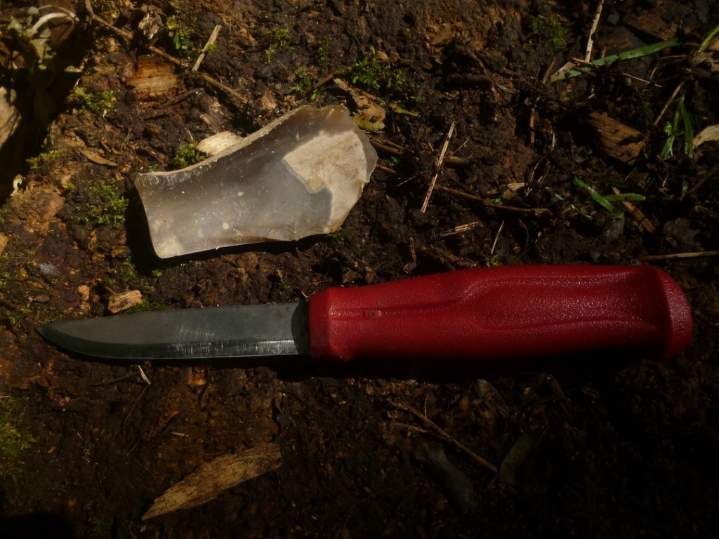Modern Bushcraft Knife