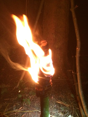 Bushcraft Torches and Lanterns Part 2 – Birch Bark Torches
