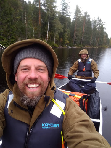 Canoeing and Campcraft in Sweden