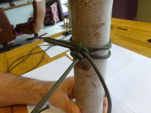 Tension Knot Step 4