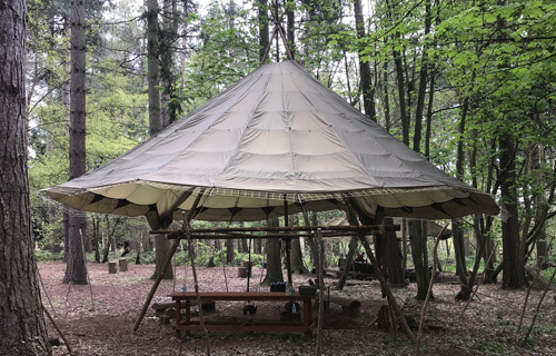 Finished Parachute Camp