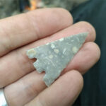 Barbed and tanged arrowhead
