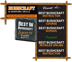 Bushcraft Awards 2011 - Best Bushcraft School, Bushcraft course and Bushcraft Instructor
