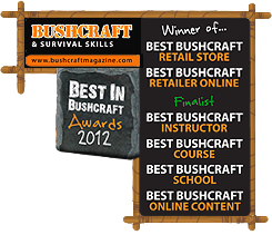 Bushcraft Awards 2012 - Best Bushcraft Retail Store and Best Bushcraft Store Online