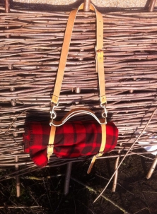 Frost River Woollen Blanket Roll With Harness
