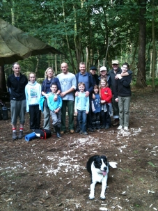 Family Bushcraft & Canoe Overnighter