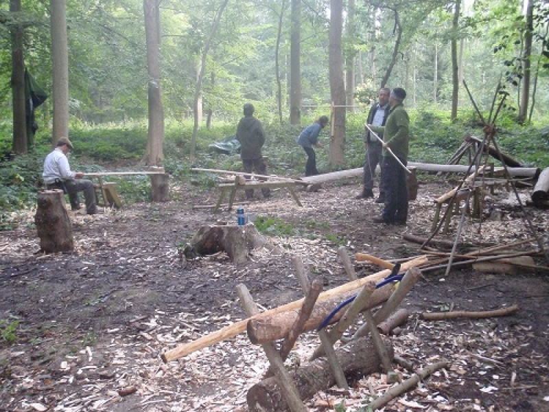 Primitive bow making weekend
