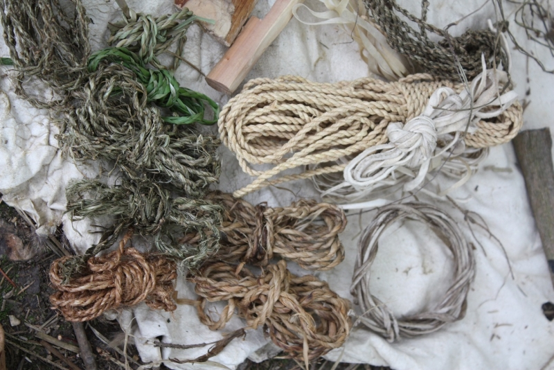 Natural cordage and glues weekend