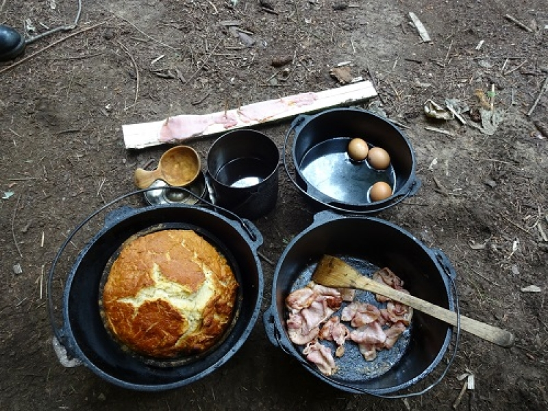 Pioneer Cooking Weekend