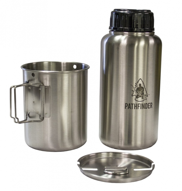 Pathfinder GEN3 Stainless Steel Widemouth Bottle a