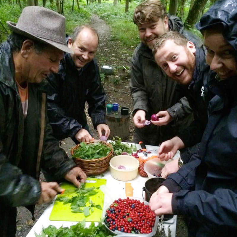 Wild Food Foraging and Preparation Weekend