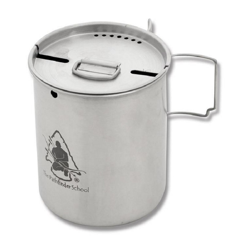 Pathfinder Stainless Steel 25oz Cup and Lid Set