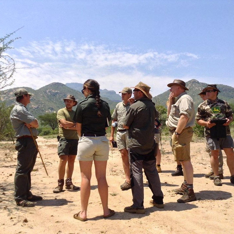 Game Ranger Experience & CyberTracker Training & Assesment - South Africa