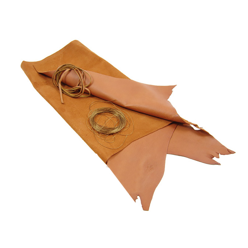 Make your own Sami Reindeer Leather Pouch