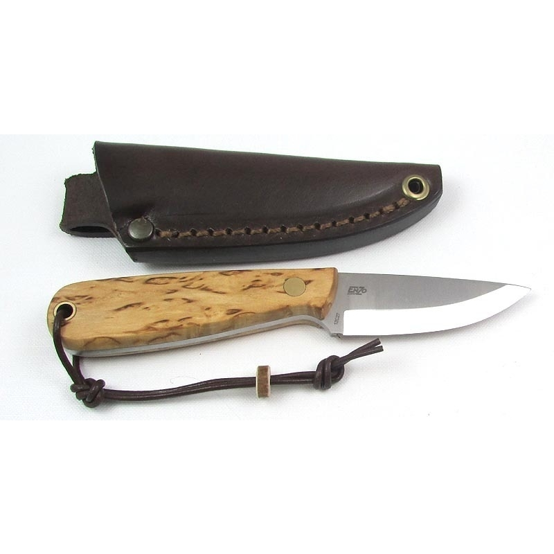 Brisa Neck Knife Curly Birch
