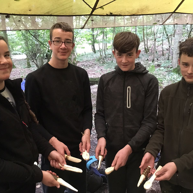 Teenagers Fundamental Bushcraft Course