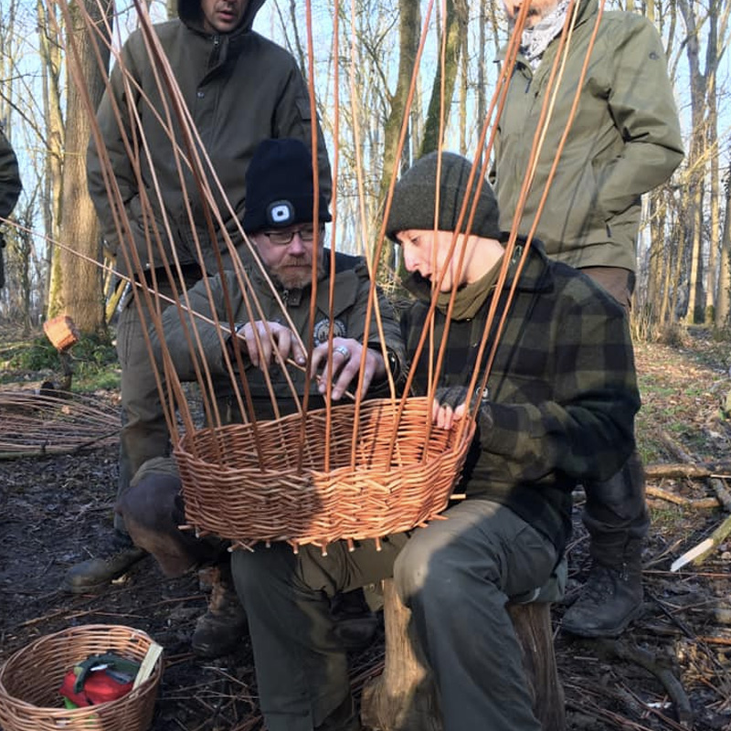 Basketry and bark work weekend