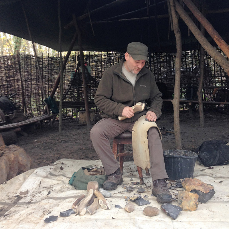Flint Knapping Day Course
