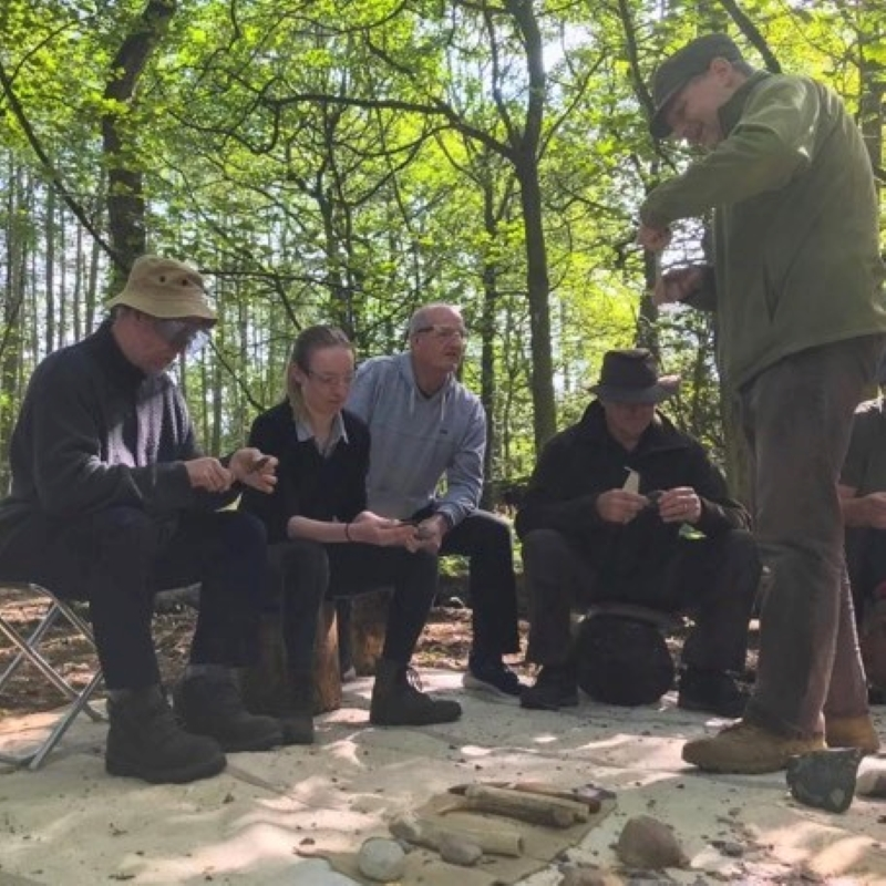 Progressive Flint Knapping Immersion Course 6 Weekends