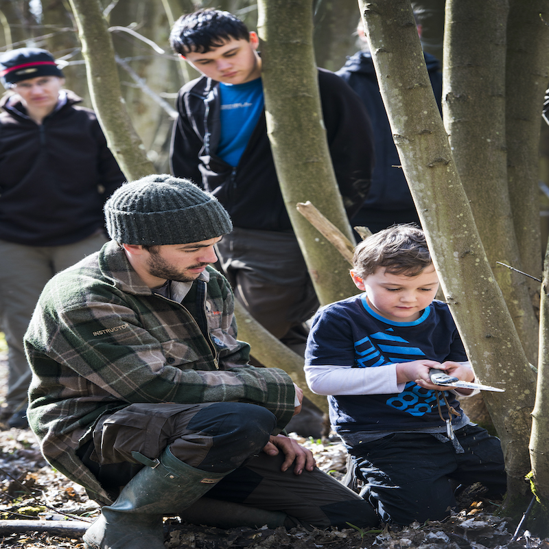 Family Bushcraft Immersion Course 6 Weekends