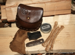 Leather Pocket Tinderbox Pouch