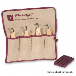Flexcut Scorp Set (4 Piece)