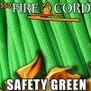 FireCord 550 Safety Green