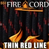 FireCord 550 Thin Red Line