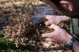 Friction Fire Lighting Bow Drill Workshop - Photo 3