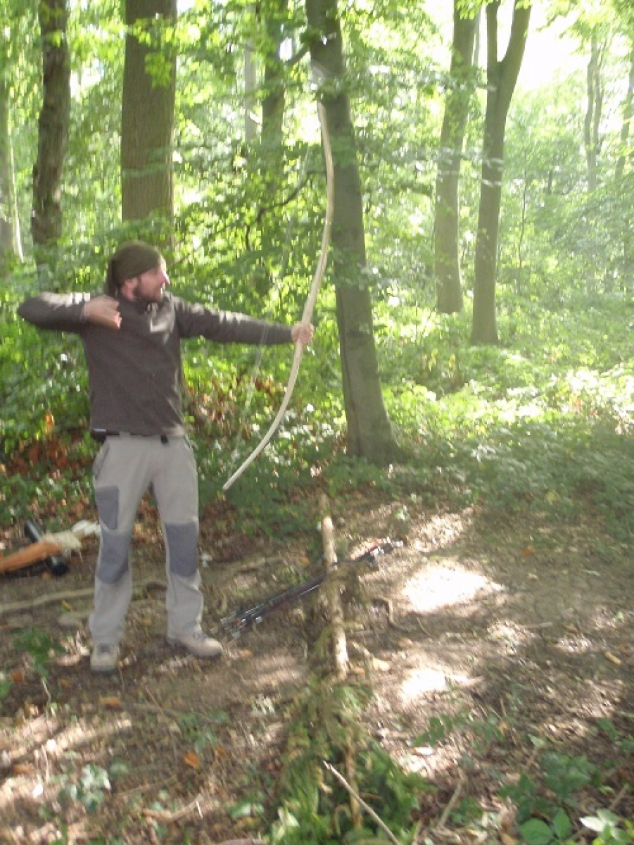 Primitive bow making weekend - Photo 4