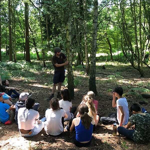 School Youth Group Bushcraft Activity